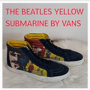 VANS THE BEATLES YELLOW SUBMARINE VANS